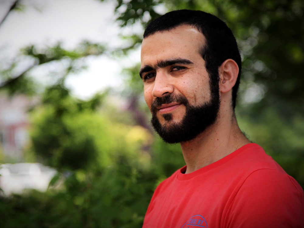 Former Guantanamo Bay prisoner Omar Khadr, 30, is seen in Mississauga, Ont., on Thursday, July 6, 2017. The federal government has paid Khadr $10.5 million and apologized to him for violating his rights during his long ordeal after capture by American forces in Afghanistan in July 2002. THE CANADIAN PRESS/Colin Perkel ORG XMIT: CNP306